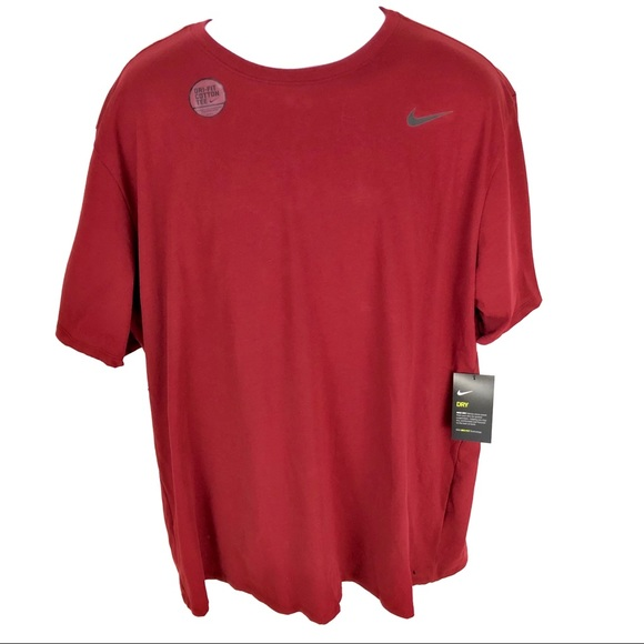 Nike Other - Nike Mens Red Work Out Shirt 2XL XXL NWT